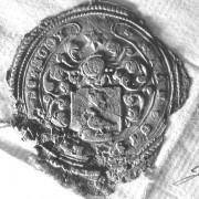(003) Arien de Noo d.d. 07-09-1765. Schepen van Nederhemert. Arien zegelt met het stempel van zijn vader Jan Gijsbertse de Noo.